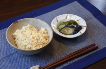 玄米の美味しい炊き方